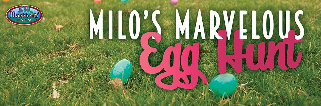 Milo's Marvelous Egg Hunt banner
