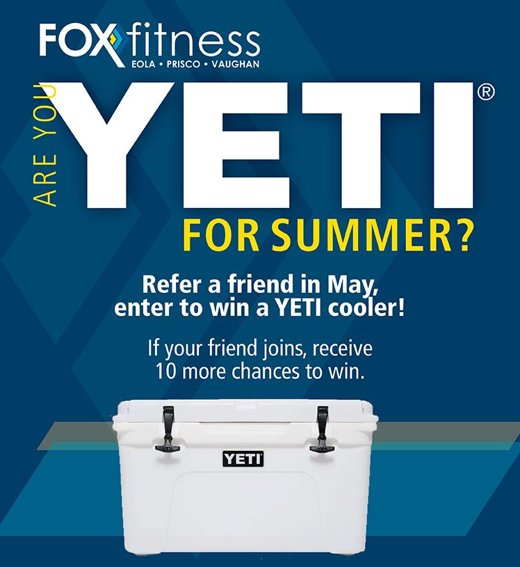 Yeti for Summer